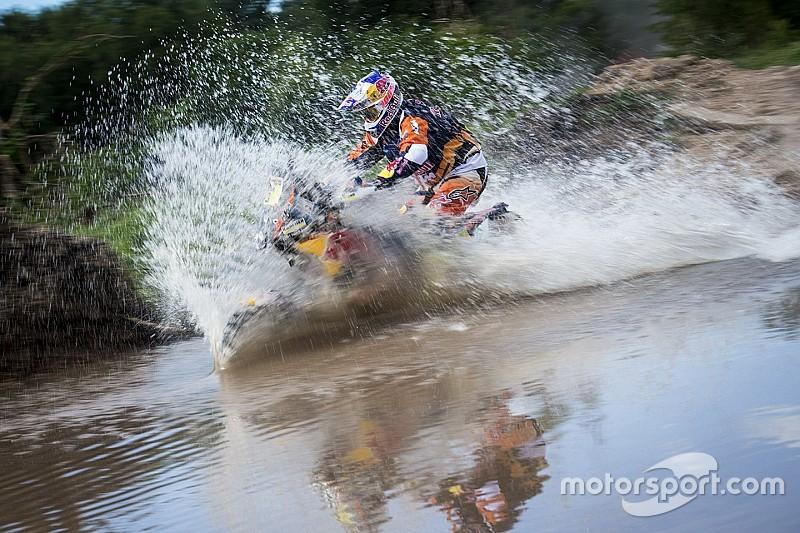 Dakar motoren: Toby Price wint en pakt de leiding