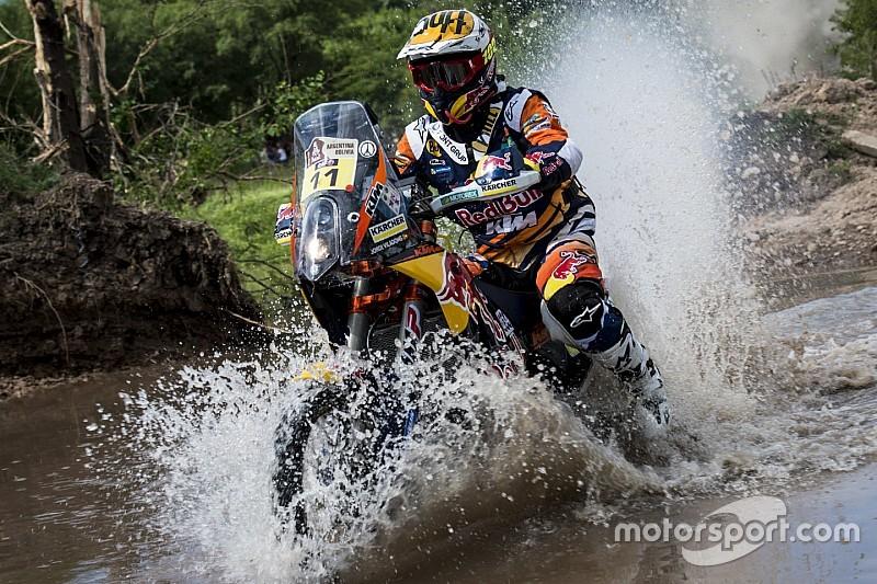 KTM's Viladoms shrugs off Stage 2 troubles