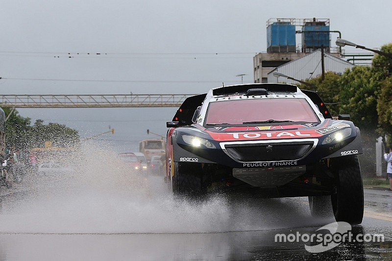 Tuesday's Dakar stage shortened as bad weather persists