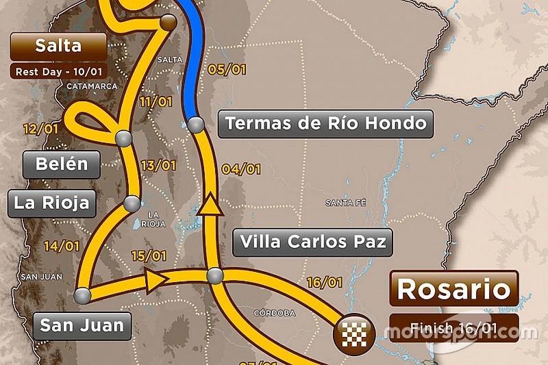 Dakar: solo 190 km di speciale nella terza tappa