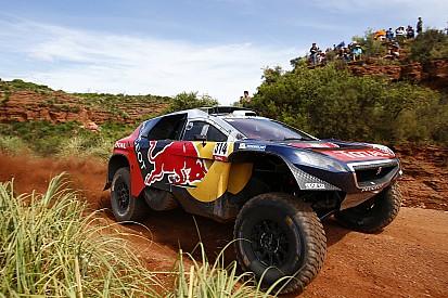 Photos - Les débuts tonitruants de Loeb et Elena sur le Dakar