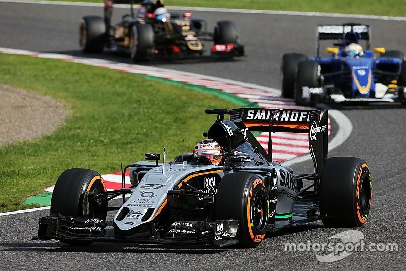 Quinta em 2015, Force India crê em 2016 mais difícil