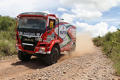 Dakar Trucks, Stage 3: Kolomy quickest, Stacey keeps overall lead