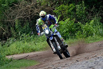 Sherco TVS riders drop positions in stage four, Santosh retires
