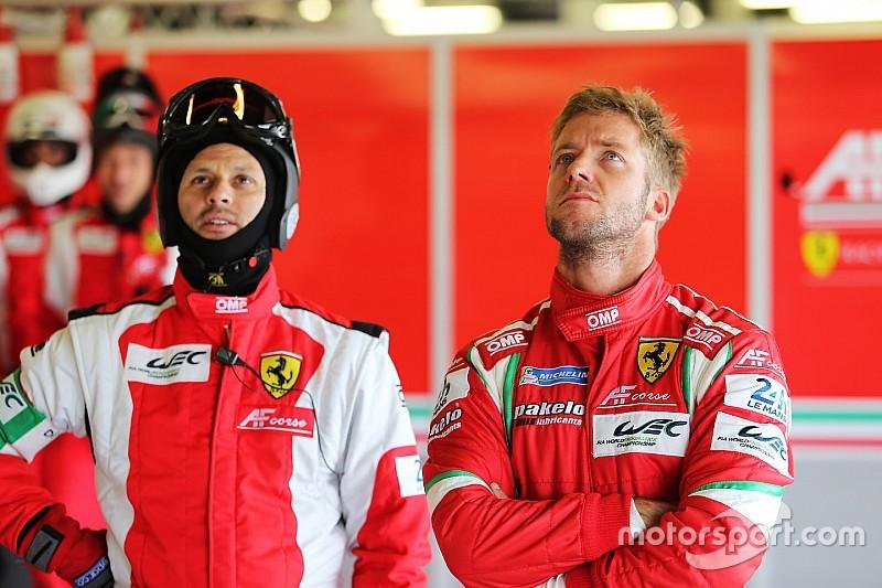 Bird replaces Vilander in Ferrari WEC line-up