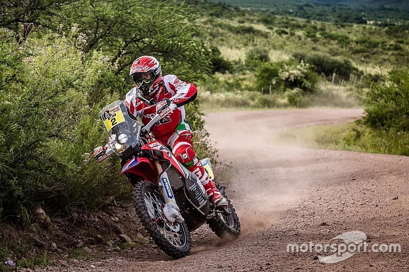 Goncalves se mantiene de líder en el Dakar