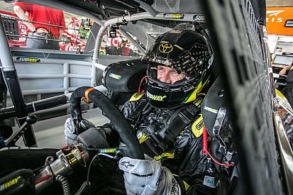 Au volant d'une voiture de NASCAR