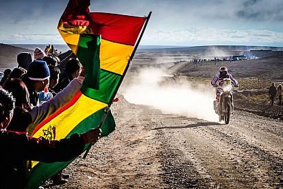 Después de 6 Etapas Paulo Goncalves lidera en motos.
