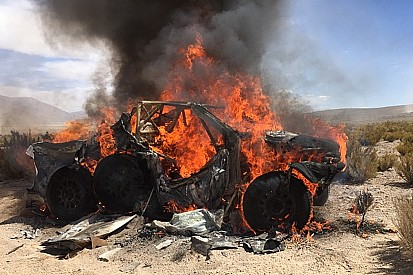 "Ten Brinke retires after car fire: ""It went so fast"""