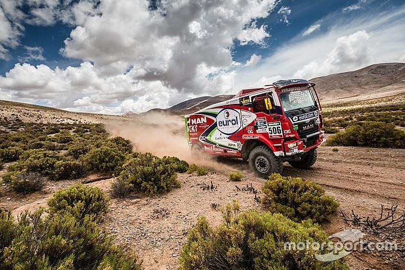 Dakar Camiones, Stacey recupera la delantera con la segunda victoria en la etapa 6