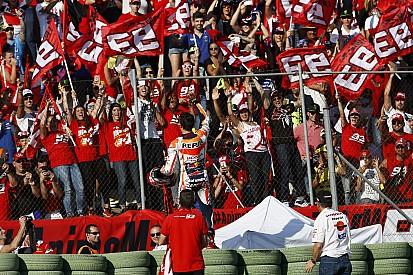Por segurança, fãs italianos de Marquez não vão a Mugello
