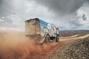 Dakar Stage report Dakar Trucks, Stage 7: Nikolaev heads Kamaz 1-2, Versluis takes lead