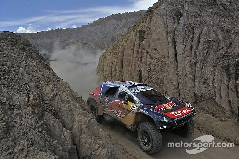 Rallye Dakar: Sainz Schnellster, Loeb holt sich die Führung zurück