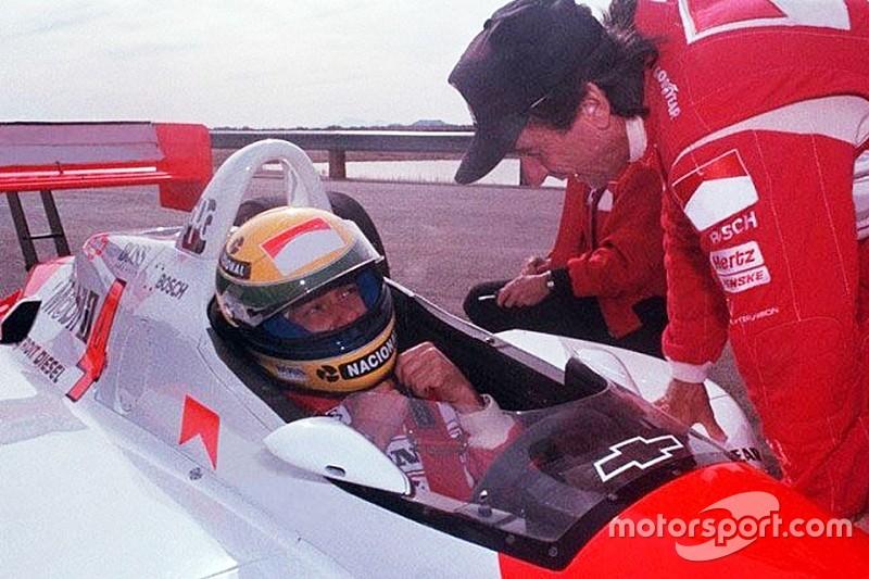 День, когда Сенна сел за руль машины IndyCar