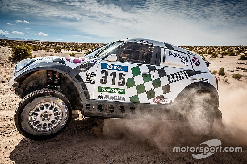 Three AXION X-raid Team MINI ALL4 Racing finish Stage 7 in the top ten
