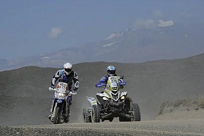 Dakar, Catanese e un rifornimento... manuale!