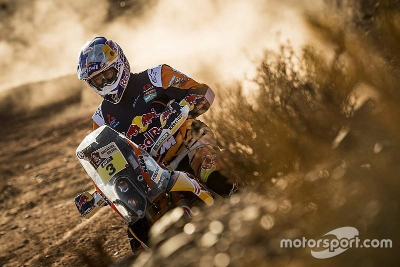 Dakar motoren: Dubbelslag voor Toby Price