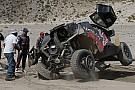 Аль-Аттия прервал победную серию Peugeot, Лёб перевернулся