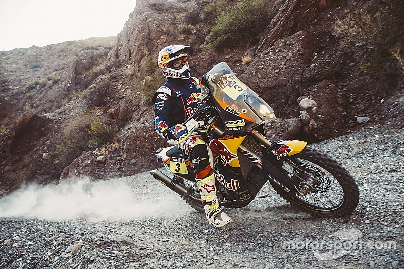 Dakar Bikes, Stage 9: Goncalves woes give Price commanding lead