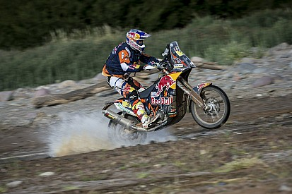 Dakar, Moto, Tappa 9: Goncalves ko, Price va in fuga!