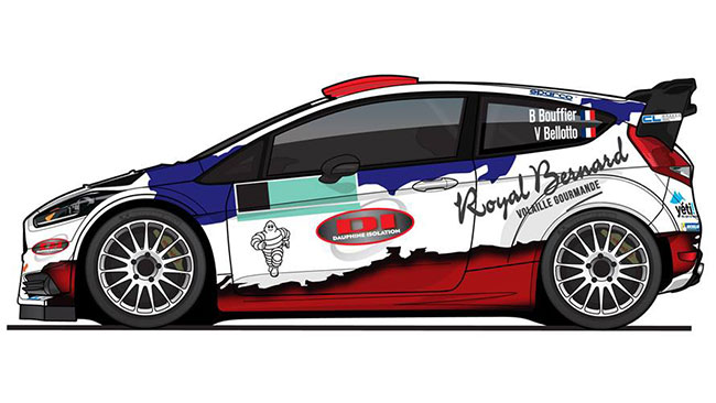 La livrea M-Sport di Bryan Bouffier per Monte-Carlo