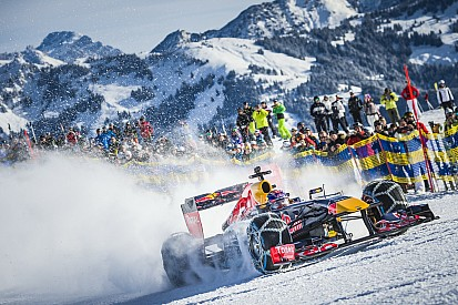 Photos - Red Bull et Verstappen, la F1 des neiges!