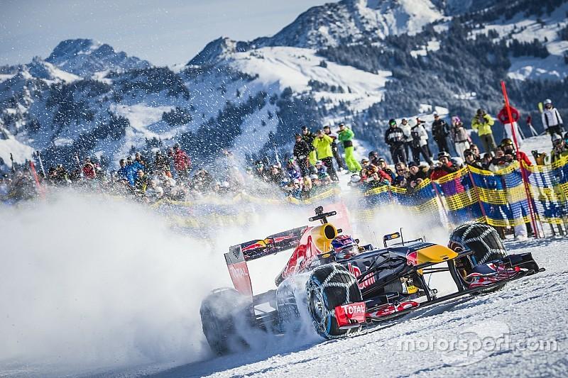 Photos - Red Bull et Verstappen, la F1 des neiges!