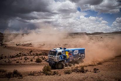 Dakar trucks: Nikolaev wint, De Rooy behoudt voorsprong