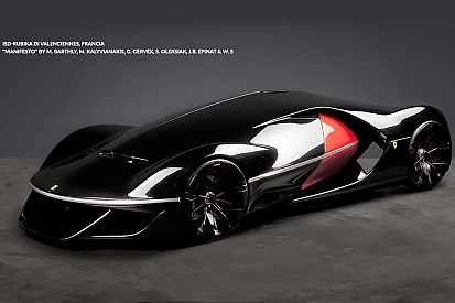 Ferrari Manifesto vence concurso de carros futuristas