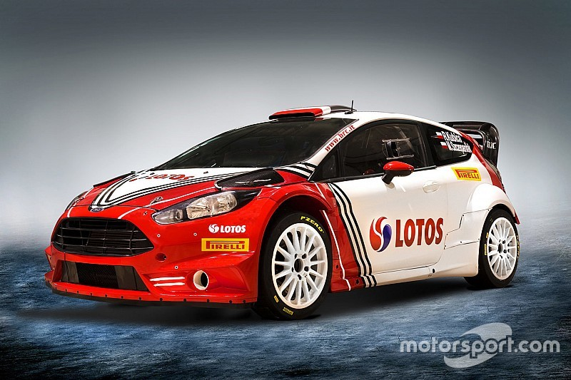 Kubica svela la livrea della Fiesta per il Monte-Carlo