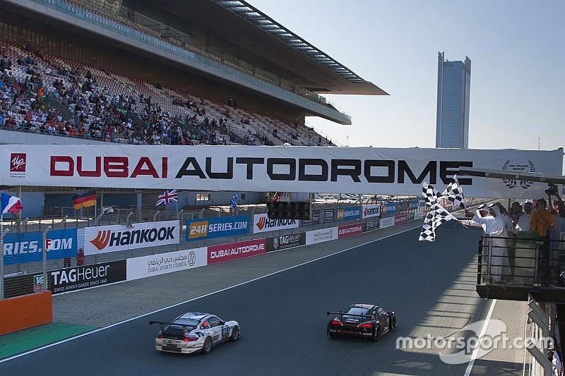"""Audi начала сезон с победы над Mercedes в """"24 часах Дубая"""""""