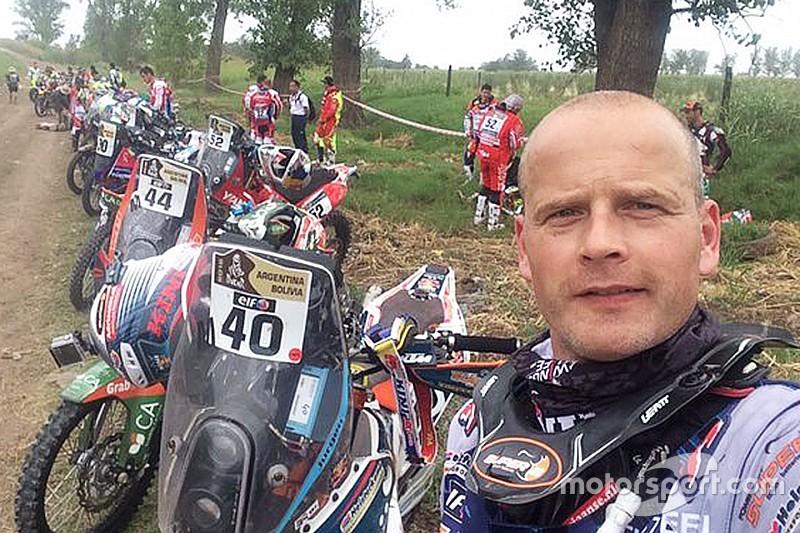Jurgen van den Goorbergh ejemplo en Dakar