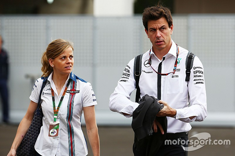 """Susie Wolff """"good enough to race for midfield team"""", says Toto"""