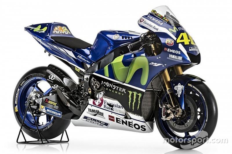 Yamaha: Lorenzo und Rossi enthüllen ihr neues MotoGP-Bike für 2016