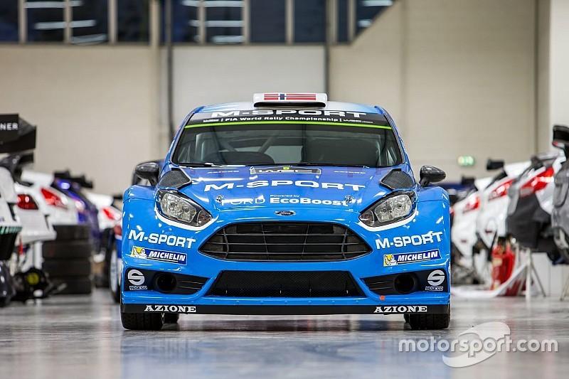 M-Sport pronta per Monte-Carlo con Camilli e Østberg