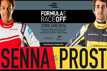 Prost e Senna in gara a Londra contro i... tifosi!