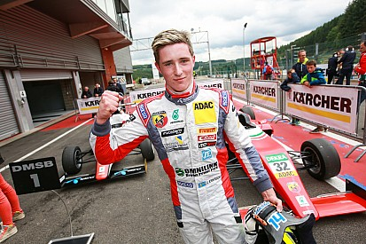 Eriksson en F3 Europe avec Motopark