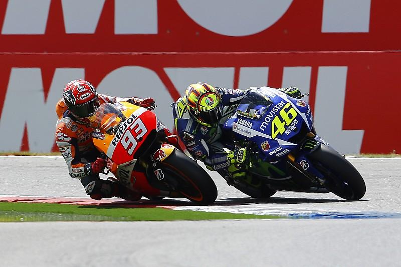 Márquez rompe su contrato con una compañía de Rossi