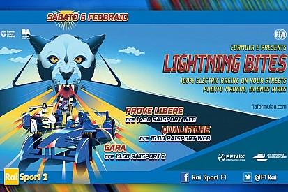 Ecco la programmazione TV dell'ePrix di Buenos Aires