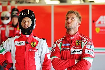Primer día de Sam Bird con Ferrari