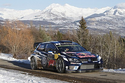 Monte Carlo WRC: Ogier takes lead, Kubica and Paddon crash out