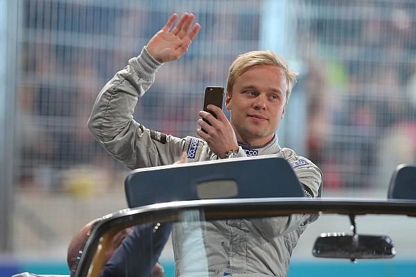 Rosenqvist testa carro da Indy Lights pela segunda vez