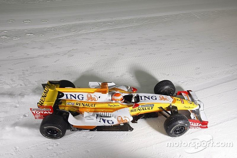 Formel 1 auf Schnee? Neu ist das nicht…