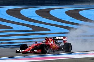 Formula 1 Test Ricard, Day 1: Raikkonen in pista con la Ferrari SF15-T