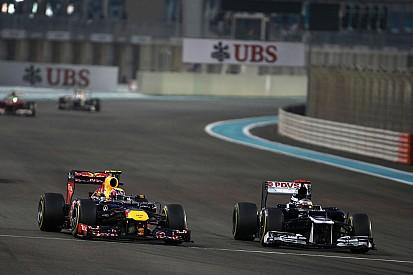 """Webber - """"Maldonado fait de la figuration"""""""