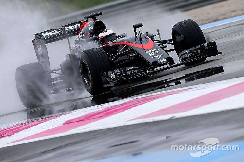 Paul Ricard, J1 - Ricciardo en tête, McLaren en panne