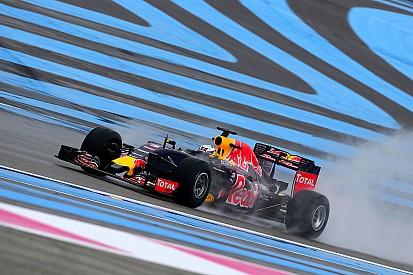 Ricciardo tops first day of wet Pirelli test