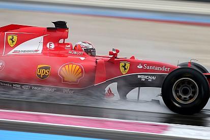 Essais pluie Pirelli - Räikkönen pas convaincu