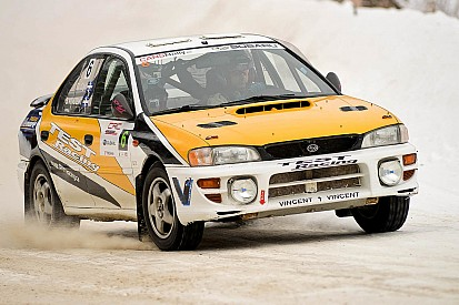 Grand Master driver Sylvain Vincent wins Rally of the Tall Pines