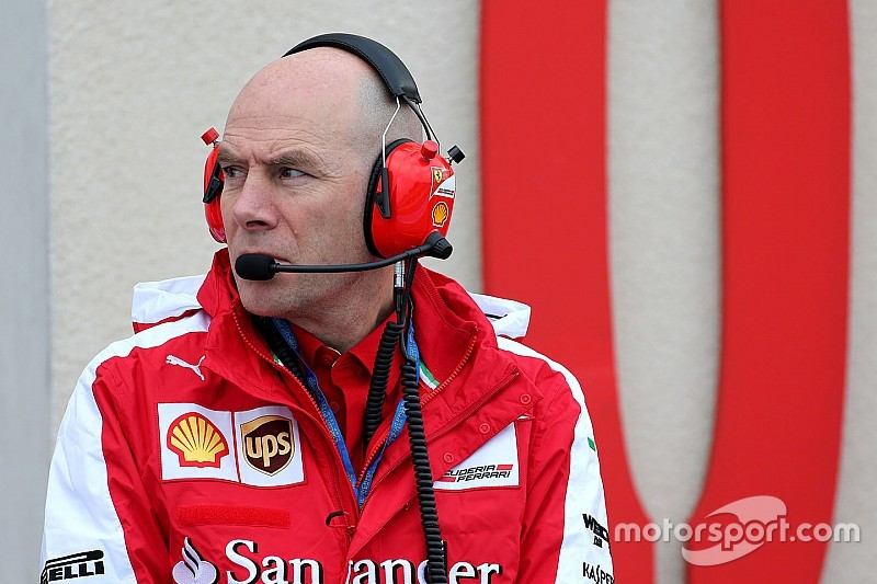 Clear makes first appearance for Ferrari